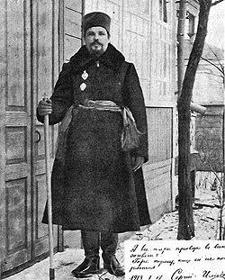 После расстрижения 17.01.1913 г., Мариинская ст.