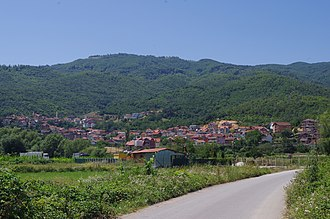 Frangovo - Panoramic view of the village