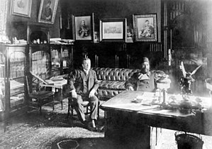 Zeynalabdin Taghiyev - Image: В кабинете у Тагиева