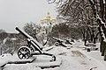 Гармати з бастіонів Чернігівської фортеці Грудень 2017.jpg