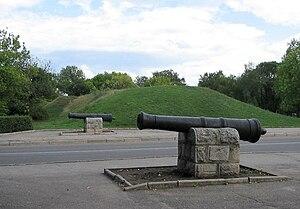 Kropyvnytskyi - Walls of St. Elizabeth fortress