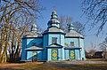 Горбулів. Миколаївська церква - шедевр народної архітектури. 1746 рік побудови.jpg