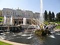 Дивные фонтаны Петергофа - panoramio.jpg