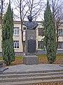 Коростень, Пам'ятник Козаку С. А.-двічі Герою Радянського Союзу, вул. Грушевського 8.jpg