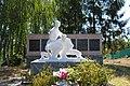 Ксаверівка, Братська могила 7 воїнів Радянської Армії і пам'ятник 149 воїнам – односельчанам загиблим на фронтах ВВВ.jpg