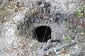 Надеюсь теперь копателей остановят. Могильник IV-VI вв. Дурной Яр. Пещерный город Бакла. Скалистое. Бахчис - panoramio.jpg