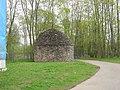 Поленница дров в Варлаамо-Хутынском монастыре 02.JPG