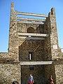 Судак. Генуэзская крепость. Башня консула Паскуале Джутиче (1392г.), была закрытой, но задняя стена обвалилась. 17-08-2009г. - panoramio.jpg