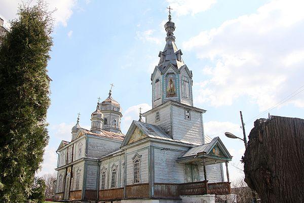 Церква Борщівка