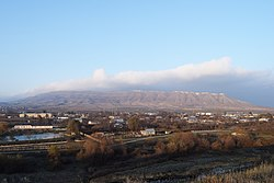 The panorama of Khojali town