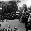 המאורעות בארץ ישראל 1937. מחסום של רכבים בריטיים ברחוב יפו ירושלים-PHL-1088020.png