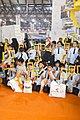 عکس کودکان در غرفه نشنال ژئوگرافی عربی .jpg