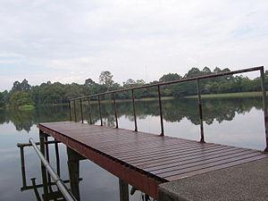 Chiang Mai University - Ang Kaew Reservoir on main campus