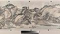 清 王翬 倣巨然燕文貴山水圖 卷-Landscape in the Style of Juran and Yan Wengui MET DP204419.jpg