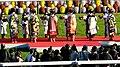 第76回菊花賞の表彰式で贈呈される菊の花.JPG