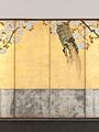 酒井抱一筆 桜図屏風-Blossoming Cherry Trees MET DP704938.jpg