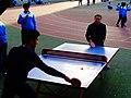 雁塔 陕师大附中分校在打乒乓球 26.jpg
