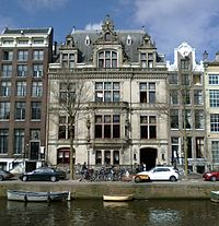 NIOD Institute for War, Holocaust and Genocide Studies at Herengracht 380 in Amsterdam
