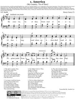 American patriotic song