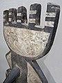 027 c7 detail BWA - (BAYIRI) PLANK MASK, Burkina Faso FRONT (168.CM) (9362745321).jpg