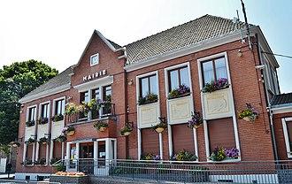 Corbehem - The town hall of Corbehem