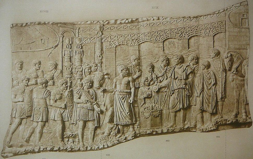 072 Conrad Cichorius, Die Reliefs der Traianssäule, Tafel LXXII