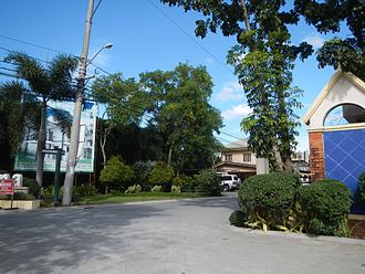 Subdivision (land) - Entrance to a subdivision in Baliuag, Bulacan, in the Philippines