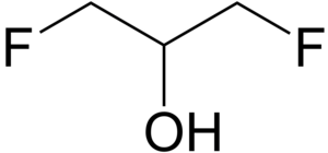 1,3-Difluoro-2-propanol - Image: 1,3 Difluoro 2 propanol 2D by AHRLS 2012
