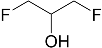 1,3-Difluoro-2-propanol - Image: 1,3 Difluoro 2 propanol 2D by AHRLS 2012