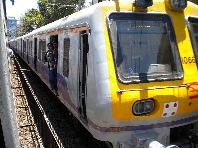 Indian Railways EMU local train