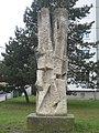 1120 Max Hegele-Weg 14 Lichtensterngasse - Plastik Aufstrebend von Herbert Wasenegger 1969 IMG 7537.jpg