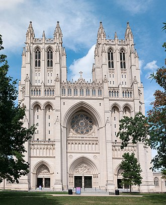 Mainline Protestant - Washington National Cathedral, an Episcopal cathedral in Washington, D.C.