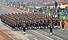 123 Infantry Battalion Territorial Army (Grenadiers) Marching Contingent passes through the Rajpath, on the occasion of the 69th Republic Day Parade 2018, in New Delhi on January 26, 2018.jpg