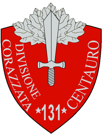 131st Armoured Division Centauro - 131a Armoured Division Centauro Insignia