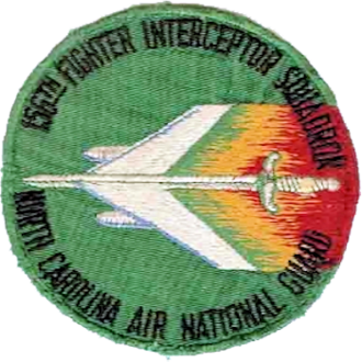 156th Airlift Squadron - 156th Fighter-Interceptor Squadron - Emblem