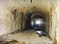 15 Vue intérieure des souterrains de la batterie de la pointe des Espagnols -réaménagement allemand-.JPG
