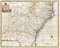 1747 Bowen Map of the Southeastern United States (Carolina, Georgia, Florida) - Geographicus - CarolinaGeorgia-bowen-1747.jpg