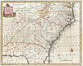 1747 Bowen Map of the Southeastern United States (Carolina, Georgia, Florida) - Geographicus - CarolinaGeorgia-bowen-1747.jpg