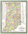 1850 Cowperthwait - Mitchell Map of Indiana - Geographicus - IN-m-50.jpg