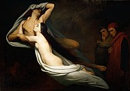 1855 Ary Scheffer - The Ghosts of Paolo and Francesca Appear to Dante and Virgil.jpg