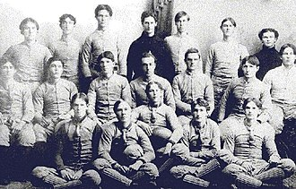 Clemson Tigers football - The 1896 Clemson Tigers team.