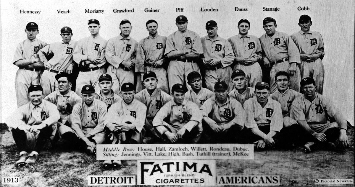1913 Detroit Tigers season - Wikipedia