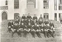 1915 VMI Keydets football team.jpg