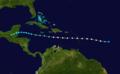 1916 Atlantic hurricane 8 track.png