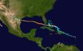 1919 Florida Keys hurricane track.png