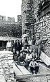1953 - odbudowa Zamku w Będzinie.jpg