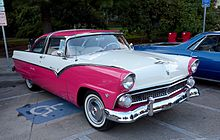 220px 1955_Ford_Fairlane_Crown_Victoria_in_Tropical_Rose ford fairlane (americas) wikipedia 1956 ford fairlane wiring harness at nearapp.co