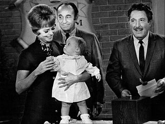 Harold Peary - Peary at right as a guest star on Petticoat Junction, 1969