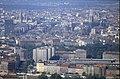 196R36180890 Blick vom Donauturm, links eingerüstet Ringturm, Schottenring, rechts Votivkirche.jpg
