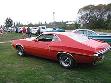 Ford Gran Torino Sport  Door Sportsroof With Optional Laser Stripe And Magnum  Wheels